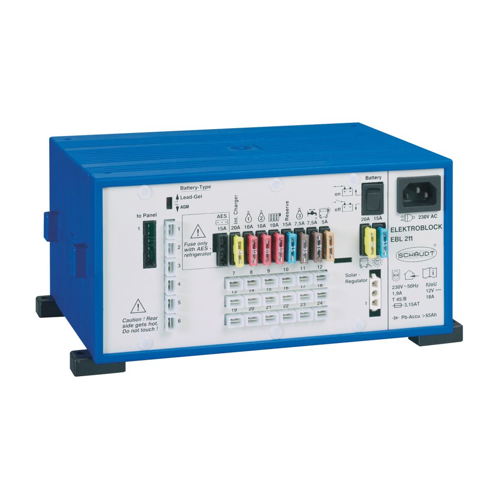 Schaudt Elektroblock EBL 10 mit Kontrolltafel